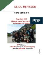 LA PAGE DU HERISSON HORS SERIE N°7