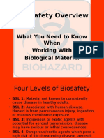 Biosafety Overview PPT