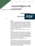Henrique Vieira Os Sítios Arqueológicos de Judith Grossmann