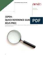 Aexio GPEH Quick Guide
