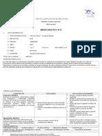 UNIDAD I- ARTE- 1° y 2° - 2016