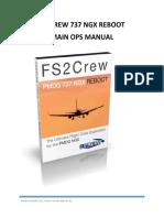 PMDG NGX FS2Crew Reboot Main Ops Manual