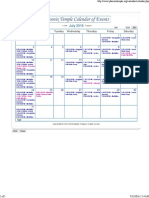 SRF Calendar July 2016