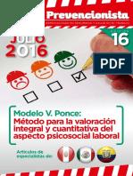 Revista El Prevencionista 16ava Edición
