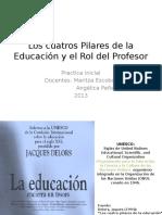4 pilares de la educación DELORS