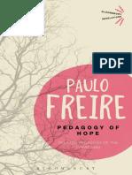 Pedagogy of Hope_ Reliving Pedagogy of the Oppressed (Bloomsbury Revelation.pdf
