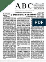 1985.05.01 ABC (II) La Oposición Cívica y Los Contras (1)