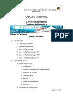 Curso Intersemestral_cálculo Diferncial