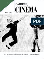 Cahiers du cinéma n. 14