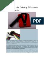 Significado de Dobok y Cinturon