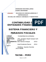 SISTEMA FINANCIERO Y PARAISOS FISCALES