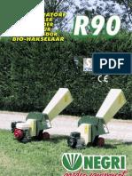 R90 Bio Shredder Leaflet