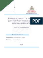 El Mapa Quinatzin. de Valientes Guerreros Chichimecas a Sabios y Poderosos Gobernantes