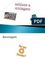 Resíduos e Reciclagem 2