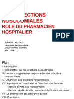 Les Infections Nosocomiales Role Du Pharmacien Hospitalier