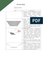 Metode Pelaksanaan Saluran U-ditch Manual