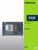Nd780 Manual