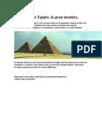 La Mentira de Las Piramides