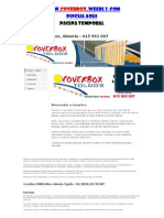 Coverbox Albox Almeria Espana - 615 992 007 - Toldos Coberturas Solares - Fabric Ante es