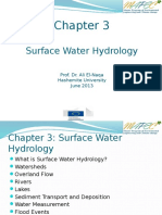 Chap 3 - Surface water hydrology
