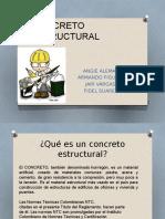 CONCRETO ESTRUCTURAL DIAPOSITIVAS