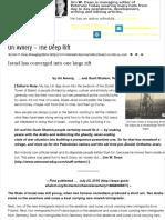 Uri Avnery – The Deep Rift | Veterans Today