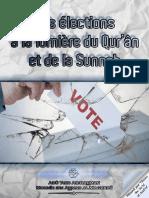 Les Élections à La Lumière Du Qur'Ân Et de La Sunnah