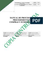 Manual Procedimientos Compras Suministros