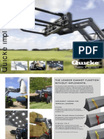 Quickie Implement Leaflet