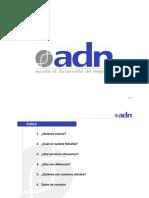 Prensentación ADN_Clientes_2010