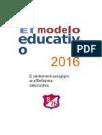 Gusy Modelo Educativo 2016