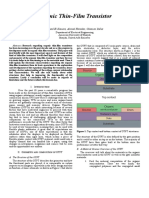 IEEE Research Paper - Organic Thin Film Transistors