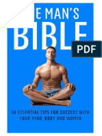 The Man s Bible 50 Essential Tips for Success With Your Mind Body and Women