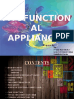 Myofunctional appliances