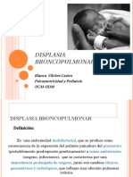 Displasia Broncopulmonar 2012