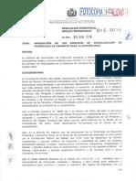 Rm 0152016 Aprobacion de Los Periodos de Actualizacion de Matriculas de Comercio Para La Gestion 2016 320