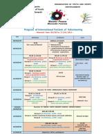 PROGRAM _ Youth House Officiel TUNISIA _ 2015