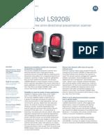 Motorola Symbol LS9208i - Barcode Scanner - Www.trridevlabelss