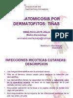 Dermatomicosis Por DERMATOFITOS Dra EMMA 2016