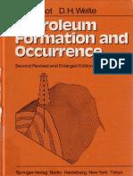 [Springer] Tissot & Welte, 1984. Petroleum Formation and Occurrence (3540132813)