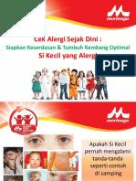 1. Cek Alergi Sejak Dini - Siapkan Kecerdasan & Tumbuh Kembang Optimal