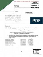 Jackson v. Tellado, et al. - Final Jury Verdict Sheet
