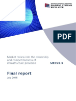 PSR MR1523 Infrastructure Market Review Final Report