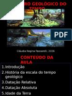 Aula 10- Registro Geológico 2016