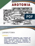 Tec Op 2013- 09 Laparotomias - Dr. Portuguez