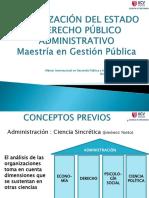 1organizacioïn Del Estado y Derecho Puïblico Administrativo