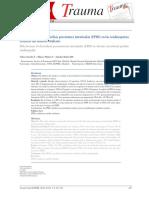 Revista - Mapfre 2010 - Efectividad de La Electrolisis Percutanea Intratisular en Tendinopatias Cronicas Del Tendon Rotuliano