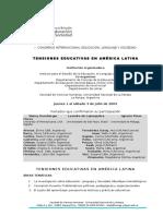 Segunda Circular Congreso Educación, Lenguaje y Sociedad