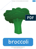 Do You Like Broccoli Ice Cream Flashcards