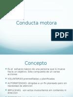 Trastornos de La Conducta Motora